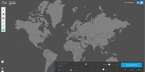 Pixel Map Generator - Un éditeur de cartes en ligne simple et pratique ! | CSS3 et HTML5 pratiques | Scoop.it