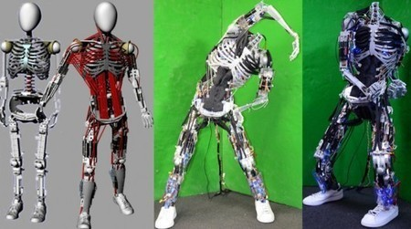 World's most anatomically correct musculoskeletal robot is presented in Japan | Bots and Drones | Scoop.it