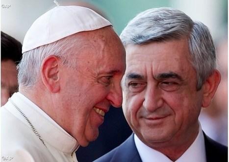 Príhovor pápeža Františka v Prezidentskom paláci v Jerevane | Správy Výveska | Scoop.it