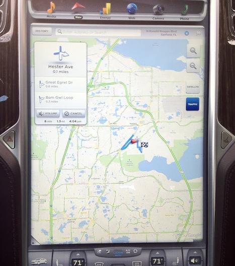 My Tesla Model S: The Navigation System | Tesla UX&UI | Scoop.it