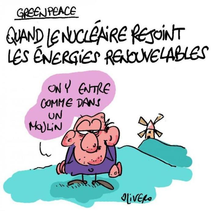 Quand le nucléaire rejoint les énergies renouvelables   Baie d'humour   Scoop.it