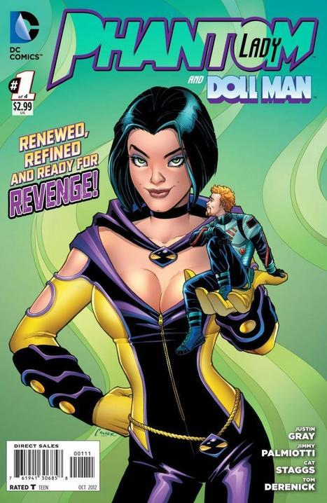 Exclusive Preview of PHANTOM LADY #1, art by Cat Staggs   Ladies Making Comics   Scoop.it
