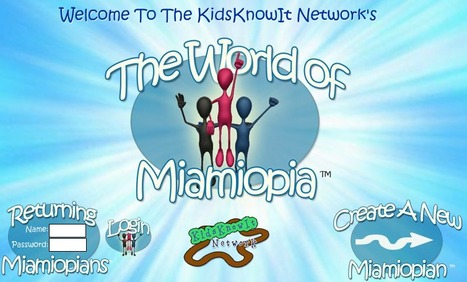 The World of Miamiopia - An Educational Virtual World For Kids   Digital Delights - Avatars, Virtual Worlds, Gamification   Scoop.it