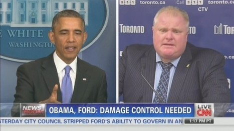 CNN split-screen segment compares Obama and crack-smoking Toronto mayor | Daily Crew | Scoop.it