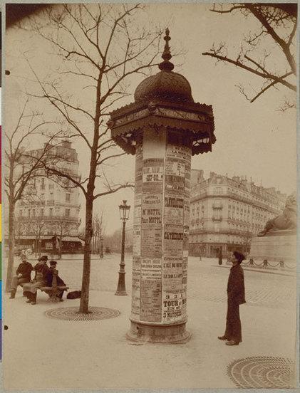 Les colonnes Morris | Histoire(s) de Paris | GenealoNet | Scoop.it