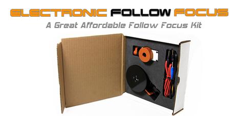 Electronic Follow Focus Kit | Jag35.com | Africashot DSLR news | Scoop.it