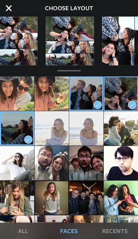 Instagram's Layout app makes photo collages easy | Social Network & Digital Marketing | Scoop.it