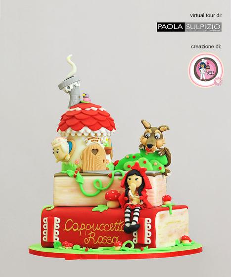 Lalla's Cake utilizza i virtual tour di Paola Sulpizio per mostrare le sue creazioni a 360° - torta Cappuccetto Rosso e ...   Fotografia news   Scoop.it