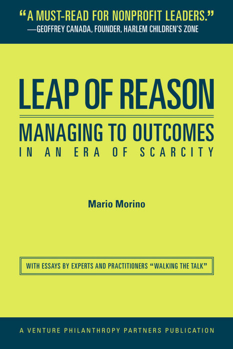 'Tears to my eyes, joy to my heart' - Leap of Reason  (Mario Morino & Lou Salza) | Elevator Pitch: Education for Sustainability | Scoop.it