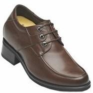 black / brown Men Elevator Dress Shoes height taller 9cm / 3.54inch | Elevator shoes for men | Scoop.it