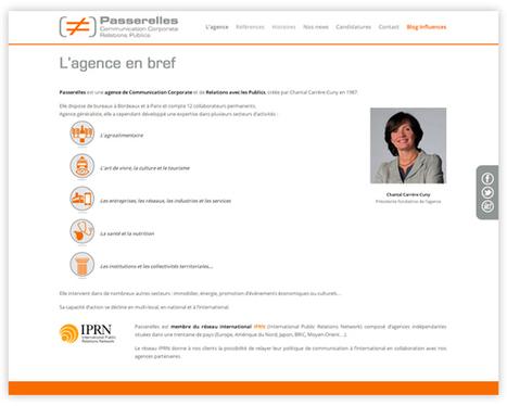 Inaativ réalise le nouveau site de l'agence Passerelles | Veille marketing mobile | Scoop.it