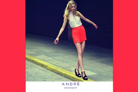 Stratégie marketing de repositionnement: la marque André   Actualités Marketing , Webmarketing , Social Media Management   Scoop.it