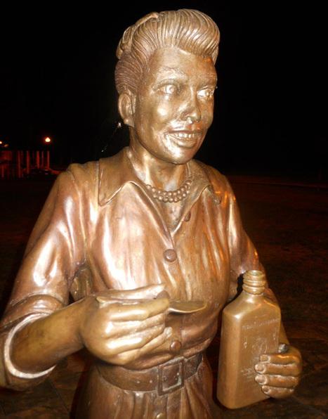 Creepy Lucille Ball Statue Spawns Debate in New York Town | Vloasis humor | Scoop.it