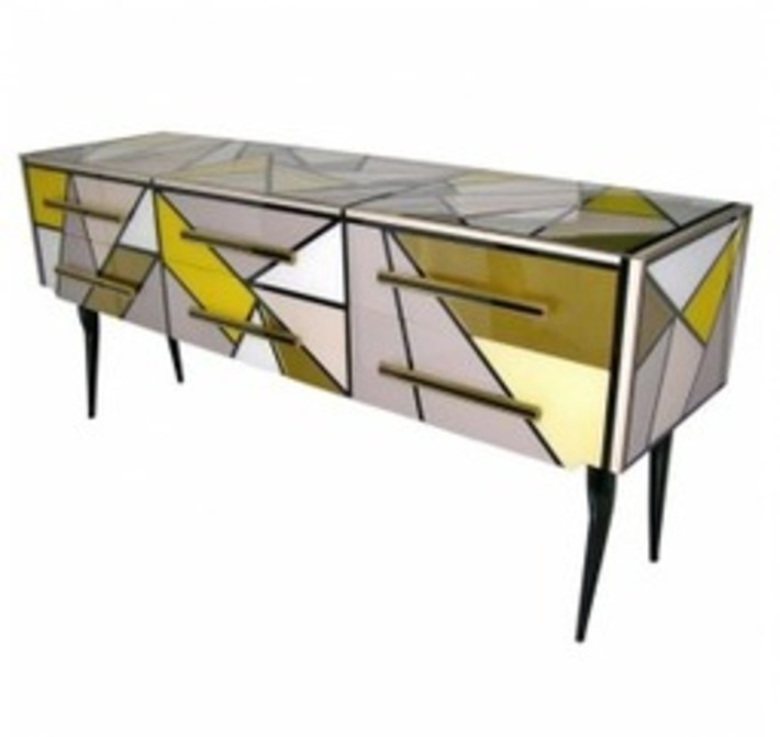 Great Italian Mid-Century Glass Furniture from Cosulich Antiques | Antiques & Vintage Collectibles | Scoop.it