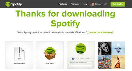 Spotify gets a new 'flat' logo | Logo design | Creative Bloq | Identité visuelle | Scoop.it