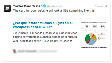 TWITTER CARDS. NUEVAS FORMAS DE PUBLICIDAD ONLINE EN TWITTER | Seo, Social Media Marketing | Scoop.it