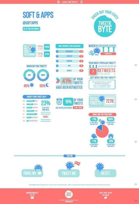 Tweetiebyte: crea una infografía con tus estadísticas de Twitter | Squeezing Twitter | Scoop.it