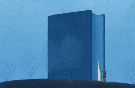 Dreamy Illustrations for Book Lovers by Jungho Lee | Magpies and Octopi | Scoop.it