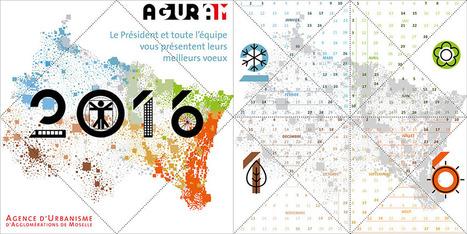 Meilleurs voeux 2016 ! | Actualité du centre de documentation de l'AGURAM | Scoop.it