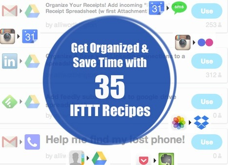 How to Be 100x More Productive: The 35 Best IFTTT Recipes | SEO & Social Media Marketing | Scoop.it