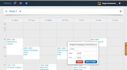 Crea tu aula en línea con Eliademy | Aprendiendoaenseñar | Scoop.it