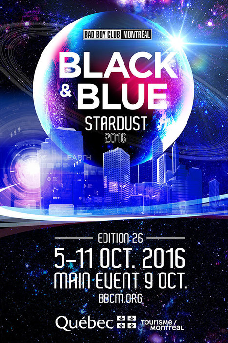 Win A Free Festival VIP Pass to Black & Blue Stardust 2016 - Montreal | LGBT Destinations | Scoop.it