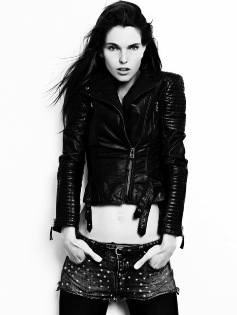 [freshly on board] Franziska Dittman @ Next Model Management in Paris ('new faces' division) | CHICS & FASHION | Scoop.it