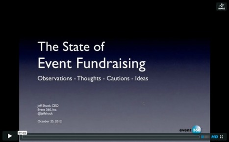 The State of Event Fundraising: Webinar Archive | Nonprofit Special Events | Scoop.it