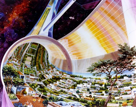 NASA once envisioned life after Earth in these funky floating colonies | Post-Sapiens, les êtres technologiques | Scoop.it