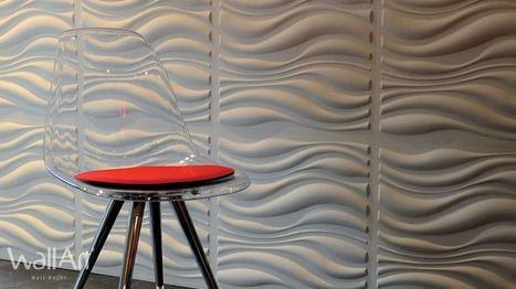 6 nouveaux designs de revêtement mural - Decoration murale Wall-Decor | Revêtement Mural innovant : Wallart | Scoop.it