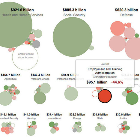 Exploring President Obama's Federal Budget Proposal through Bubbles - information aesthetics | Coolios best infographics and videographics | Scoop.it