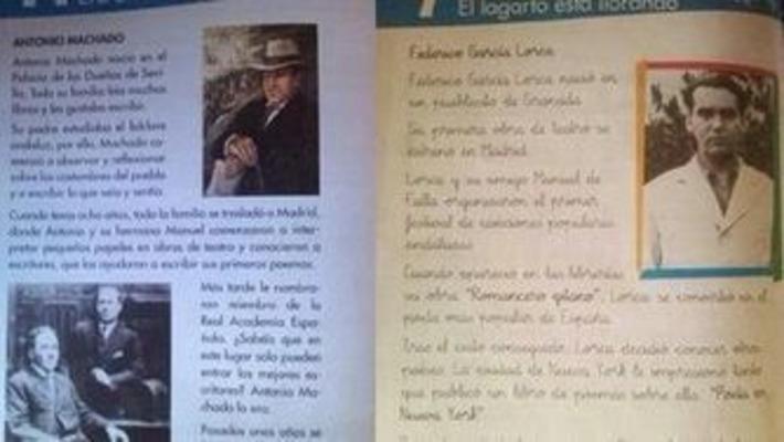 Un libro para niños causa polémica en las redes por sus referencias a Lorca y Machado | Partido Popular, una visión crítica | Scoop.it