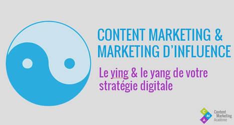 Content marketing et marketing d'influence : le ying & le yang de votre stratégie digitale   Content Marketing, Marketing par Contenus et Brand Content   Scoop.it