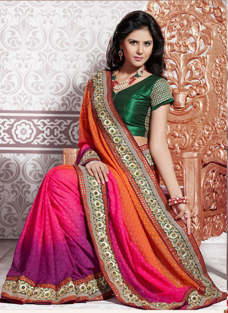 Bollywood Sarees Boost the Personality of the Wearer | Party Wear Sarees | Scoop.it