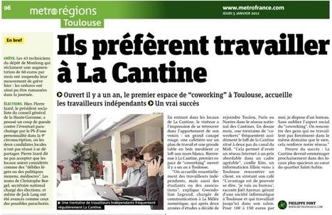 Ils préfèrent travailler où ? A la Cantine Toulouse ! | La Cantine Toulouse | Scoop.it