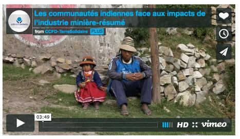 Au Pérou, la RÉSISTANCE à l'industrie minière des communautés indiennes, en images | Le BONHEUR comme indice d'épanouissement social et économique. | Scoop.it