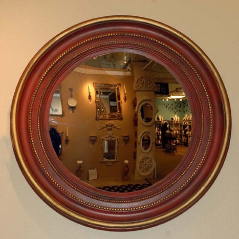 Hickory Manor House Maiden Convex Mirror | www.simplymirrors.com | Personal | Scoop.it