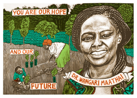 Dr. Wangari Maathai | Cultural Worldviews | Scoop.it