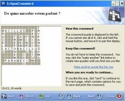 Eclipse Crossword: Una eina portable per fer mots entrecreuats : Estoig Digital   EDUDIARI 2.0 DE jluisbloc   Scoop.it