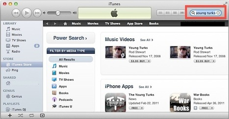 Quickly Search the iTunes Store & iOS App Store from Anywhere in iTunes | osx lion | Scoop.it