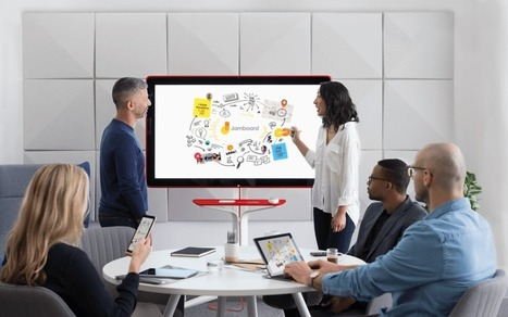 Google unveils Jamboard, a 55-inch, 4K digital whiteboard launching 2017 for under$6,000 | #ICT | 21st Century Innovative Technologies and Developments as also discoveries, curiosity ( insolite)... | Scoop.it