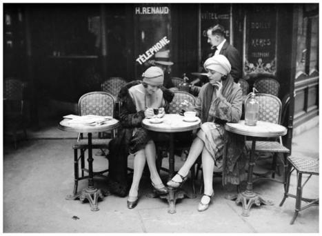 Le café : lieu emblématique français | Bonjour de France | Scoop.it