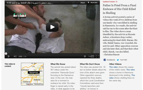 New York Times creates new story form for 'Watching Syria's War' | Convergence Journalism | Scoop.it