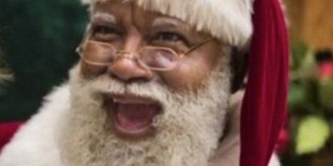 Racists Freak Out Over Black Santa At Mall Of America | Notions  Anglais Cycle terminal | Scoop.it