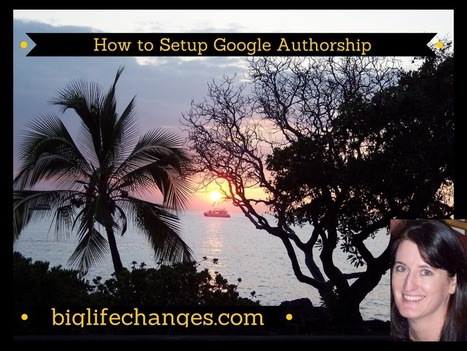 How to Set up Google Authorship - Wendy Cooley, LMSW   Market and self improvement   Scoop.it