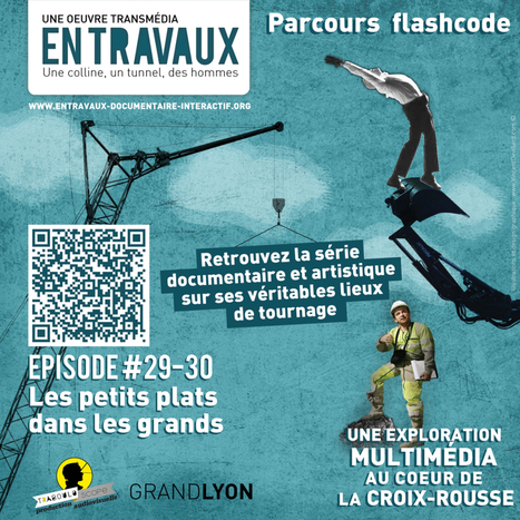 Le parcours flashcode #grandlyon #QRcode | QRiousCODE | Scoop.it