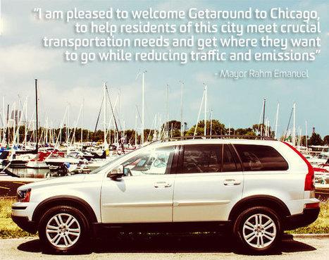 Chicago, it's official! - Getaround blog | real utopias | Scoop.it