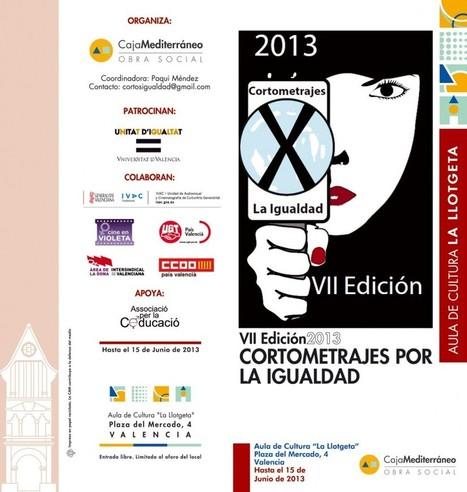 VII Convocatoria de los Cortos por la Igualdad | ACVG | Arte contra ... | #hombresporlaigualdad | Scoop.it