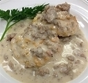 BISCUITS and GRAVY(6 oz biscuit, 8 oz gravy) | Paleo Diet Meals | Scoop.it