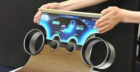 Sharp dévoile sa technologie d'écran multiforme | Branchez-vous | innovation | Scoop.it